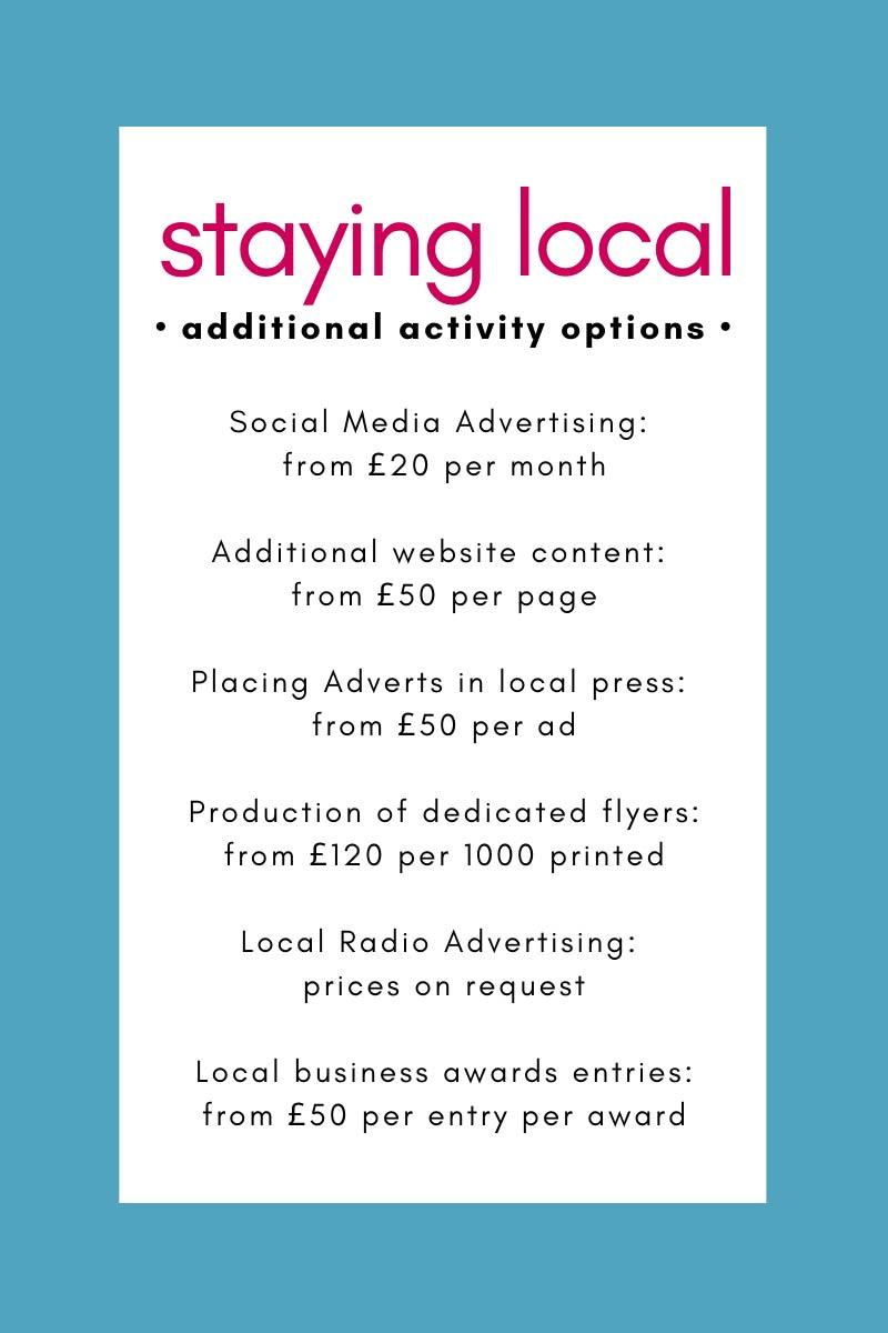 local activity options