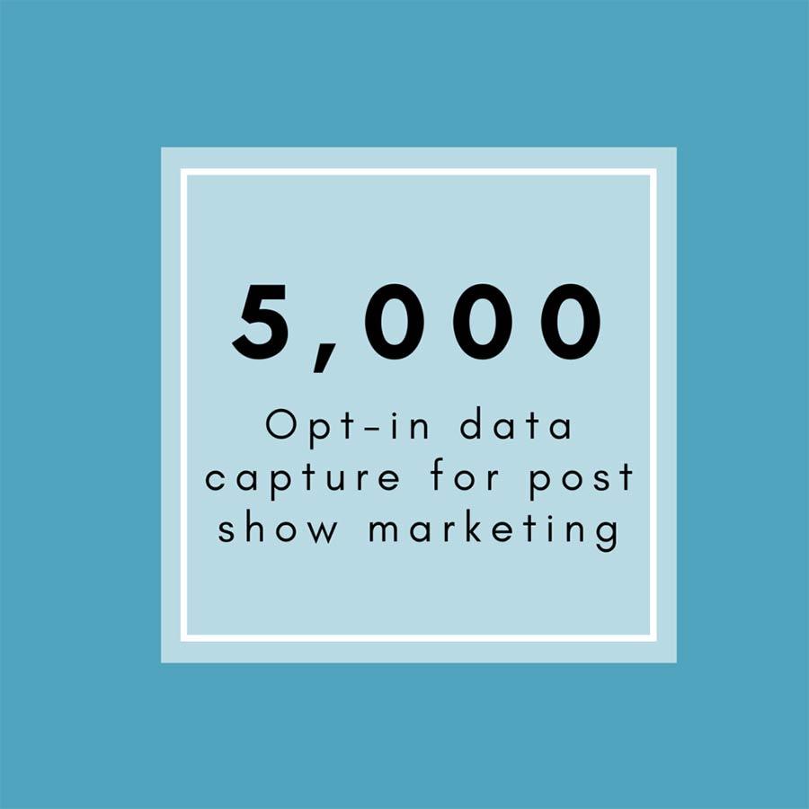 5000 optin data capture
