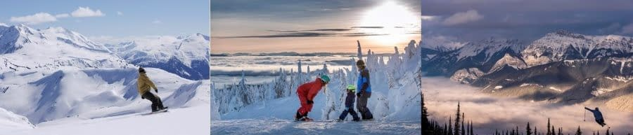 SKI SEASON HAS ARRIVED IN BRITISH COLUMBIA AND THE SNOW IS FALLING