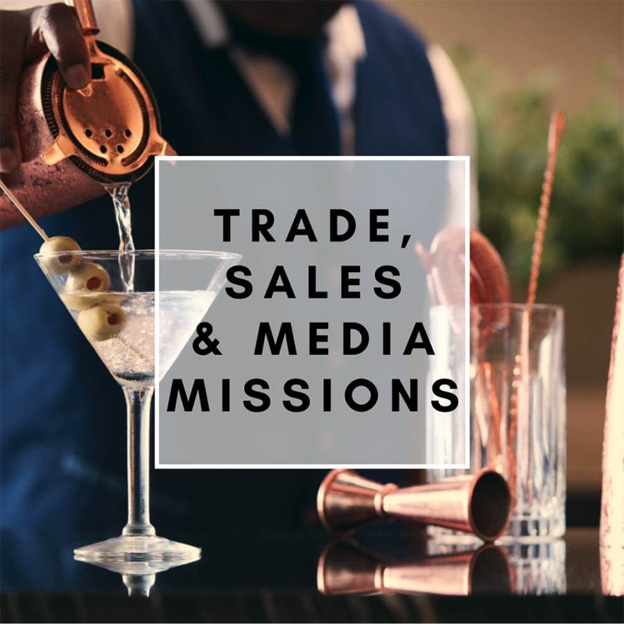 trade sales and media