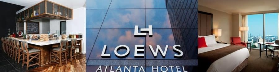 See the city sparkle with Loews Atlanta this Christmas