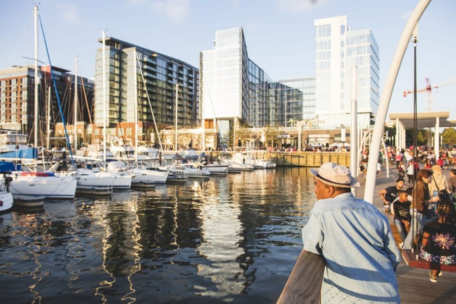 Cruise the Capital Region's new waterfront developments and discover 2018's coolest river-side hotspots.