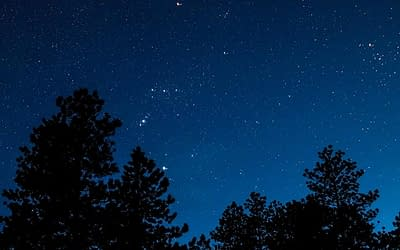 An evening under the stars in Utah's Bryce Canyon National Park