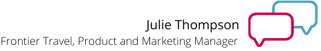 julie thompson marketing manager